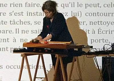 Carte blanche à Christiane Veschambre